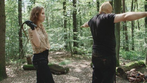 femdom-berlin.com - movie update - Lady Chrissy - Tortur im Wald Part3+4