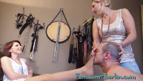 Femdom-Berlin.com - Member Update - Lady Faye and Lady Cloe - Slave Time P1