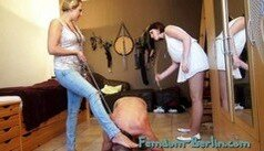 Femdom-Berlin.com - Member Update - Lady Faye and Lady Cloe - Slave Time P3