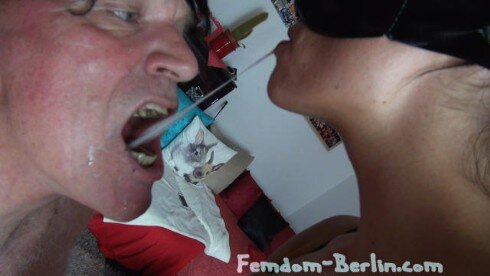 Femdom-Berlin.com - Member Update - Scat Cats - Hot Shit for the Slave Femdompart2